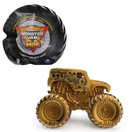 Monster Jam Mini Vehicle - Grave Digger Gold