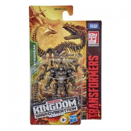 Transformers Toys Generations War for Cybertron: Kingdom Core Class WFC-K3 Vertebreak Action Figure