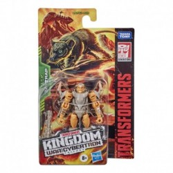 Transformers Toys Generations War for Cybertron: Kingdom Core Class WFC-K2 Rattrap Action Figure