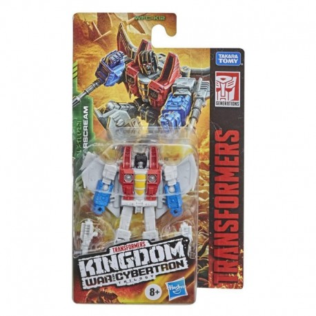 Transformers Toys Generations War for Cybertron: Kingdom Core Class WFC-K12 Starscream Action Figure