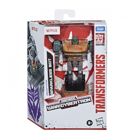 Transformers Generations War for Cybertron Series-Inspired Sparkless Bot