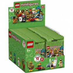 LEGO Minifigures 71029 Series 21 Complete Box of 36