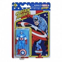 Marvel Legends Series 3.75-inch Retro 375 Collection Captain America Action Figure