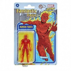 Marvel Legends Series 3.75-inch Retro 375 Collection Human Torch Action Figure