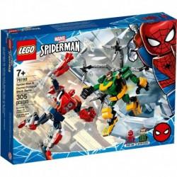 LEGO Marvel Super Heroes 76198 Spider-Man & Doctor Octopus Mech Battle