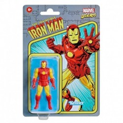 Marvel Legends Series 3.75-inch Retro Collection Iron Man Action Figure