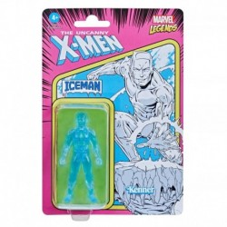 Marvel Legends Series 3.75-inch Retro Collection Iceman Action Figure