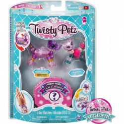 Twisty Petz Stomperz Elephant and Babypuff Kitty