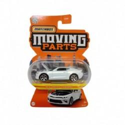 Matchbox Moving Parts 2016 Chevy Camaro White