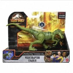 Jurassic World Camp Cretaceous Savage Strike Velociraptor Charlie