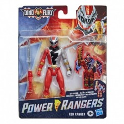 Power Rangers Dino Fury Red Ranger 6-Inch Action Figure