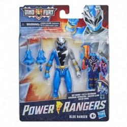 Power Rangers Dino Fury Blue Ranger 6-Inch Action Figure