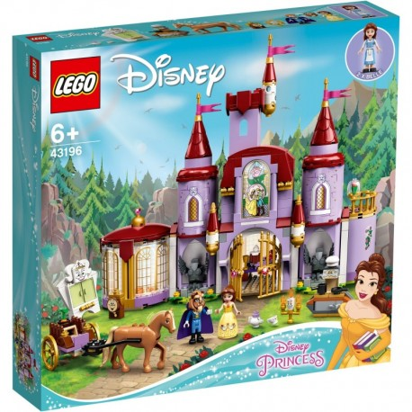 LEGO Disney 43196 Belle and the Beast's Castle