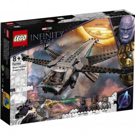 LEGO Marvel Avengers 76186 Black Panther Dragon Flyer