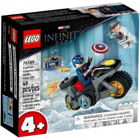 LEGO Marvel Avengers 76189 Captain America and Hydra Face-Off
