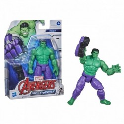 Marvel Avengers Mech Strike 6' Scale Action Figure, Hulk Toy with Compatible Battle Mech Accessory