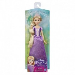 Disney Princess Royal Shimmer Rapunzel Doll, Fashion Doll with Skirt and Accessories