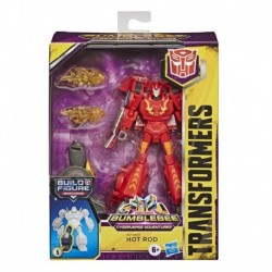 Transformers Cyberverse Bumblebee Adventures Deluxe Class Hot Rod Action Figure