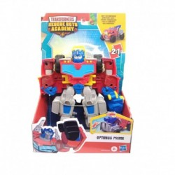 Transformers Playskool Heroes Rescue Bots Academy Optimus Prime 6 Inch