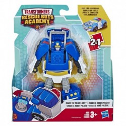 Transformers Rescue Bots Academy Classic Heroes Team Chase the Police-Bot Converting Toy Action Figure
