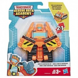 Transformers Rescue Bots Academy Wedge the Construction-Bot Converting Toy Action Figure