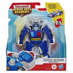 Transformers Rescue Bots Academy Chase the Police-Bot Converting Toy