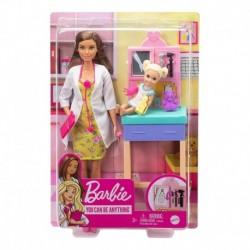 Barbie Pediatrician Playset Brunette Doll