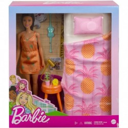 Barbie Doll and Bedroom Playset, Indoor Furniture Playset