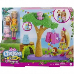 Barbie and Chelsea The Lost Birthday Party Fun Playset with Doll
