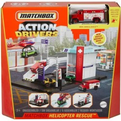 Matchbox Action Drivers Matchbox Helicopter Rescue Playset