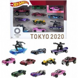 Hot Wheels Tokyo 2020 Olympics 10 Castings in 1 Pack with Popular Sports Themes