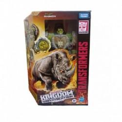 Transformers Generations War for Cybertron: Kingdom Voyager WFC-K27 Rhinox Action Figure