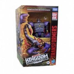 Transformers Generations War for Cybertron: Kingdom Deluxe WFC-K23 Predacon Scorponok