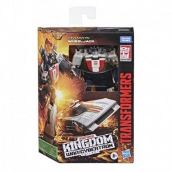 Transformers Toys Generations War for Cybertron: Kingdom Deluxe WFC-K24 Wheeljack Action Figure