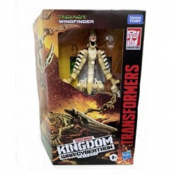 Transformers Generations War for Cybertron: Kingdom Deluxe WFC-K25 Wingfinger
