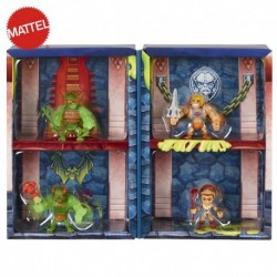 Masters of the Universe Eternia Minis Multipack 3-in, Set of 4 MOTU Characters