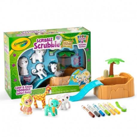 Crayola Scribble Scrubbie Safari Tub Set