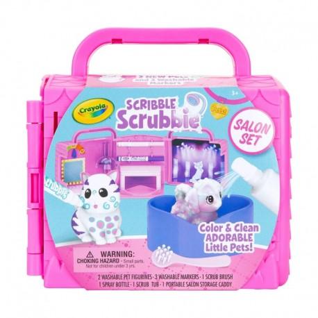 Crayola Scribble Scrubbie Pets Beauty Salon Playset