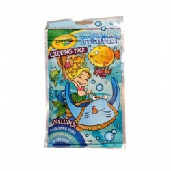 Crayola MER Creatures Coloring Pack