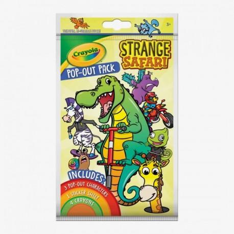 Crayola Pop-out Strange Safari With Washable Crayons