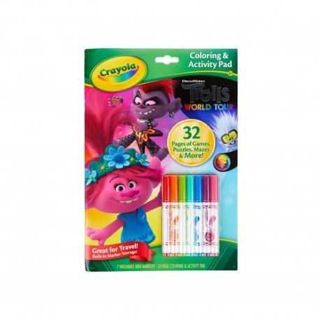 Crayola Trolls Color & Activity Set