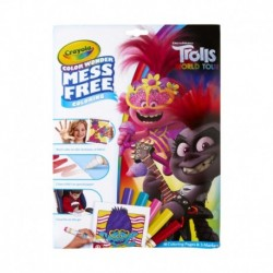 Crayola Color Wonder Mess Free Trolls World Tour Coloring Pages & Markers