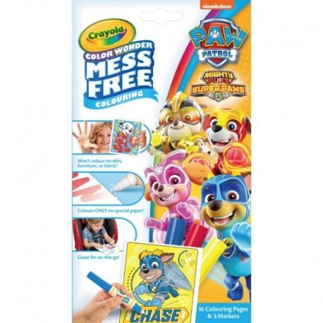 Crayola Color Wonder Mess Free Mini Overwrap - Paw Patrol