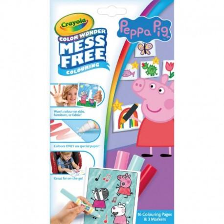 Crayola Color Wonder Mess Free Mini Overwrap - Peppa Pig