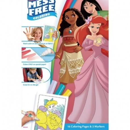 Crayola Color Wonder Mess-Free Coloring Pages & Mini Markers, Disney Princess