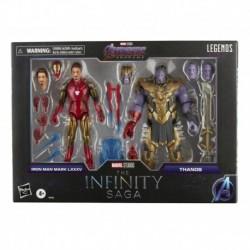 Marvel Legends Series Iron Man Mark 85 vs. Thanos