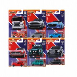 Matchbox Best of UK Die-Cast Complete Box of 10