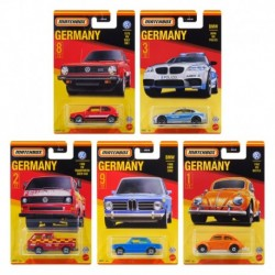 Matchbox Best of Germany Die-Cast Complete Set of 5
