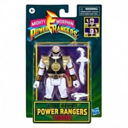 Power Rangers Retro Morphin White Ranger Tommy Fliphead Figure