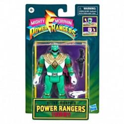 Power Rangers Retro Morphin Green Ranger Tommy Fliphead Figure